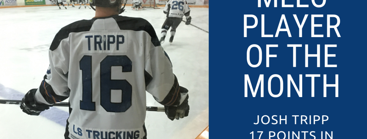 Josh Tripp Named MLLC Player of the Month